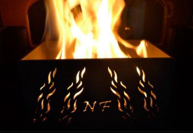 Quemador biomasa para estufas y chimeneas de leña