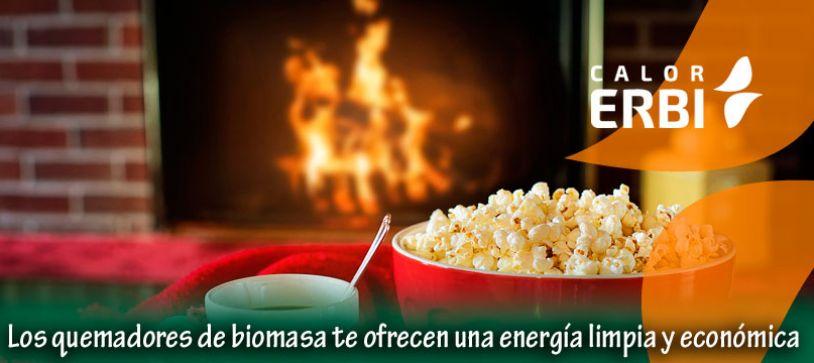 Deja atrás los combustibles convencionales con los quemadores de biomasa Calor Erbi