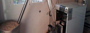 Calderas de biomasa de uso doméstico